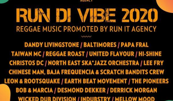 'Run Di Vibe 2020' Run it Agency mixtape